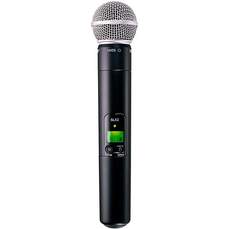 Shure SLX2/SM58 Wireless Handheld Microphone Band H19