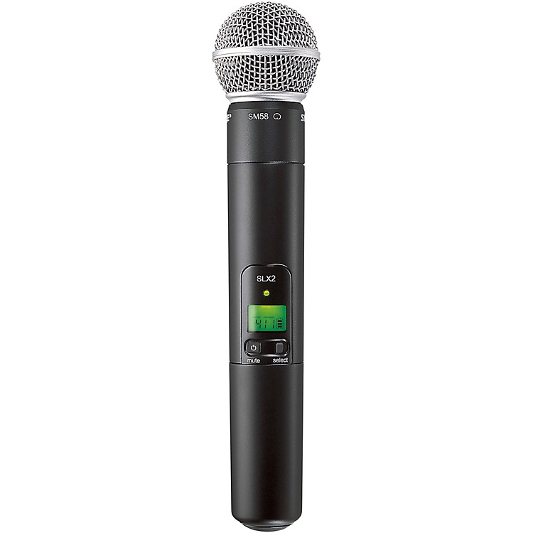 Shure SLX2/SM58 Wireless Handheld Microphone