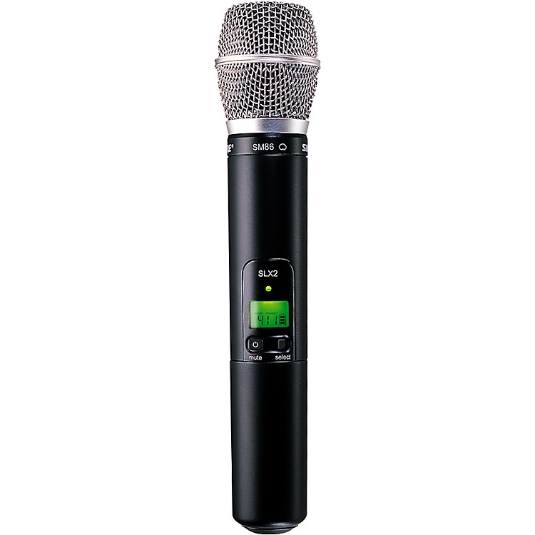 Shure SLX2/SM86 Wireless Handheld Transmitter Microphone H5