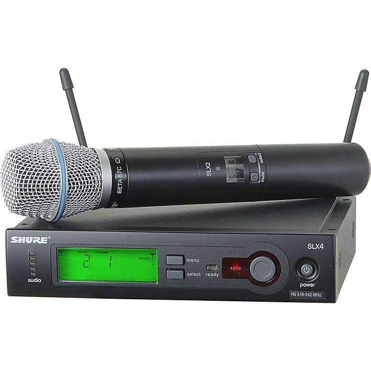 ShureSLX24/BETA87C Wireless Microphone SystemCH G4