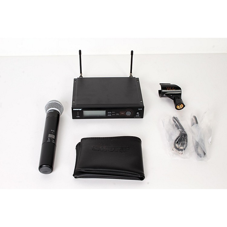 Shure SLX24/SM58 Wireless Microphone System Band G4 888365856568