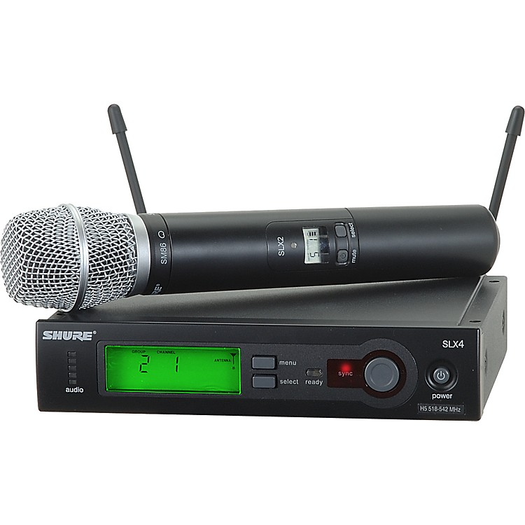Shure SLX24/SM86 Wireless Microphone System Band G5