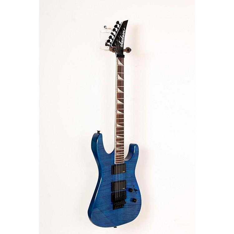JacksonSLXFMG Electric GuitarTransparent Blue888365794914