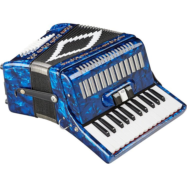 SofiaMariSM-2648, 26 Piano 48 Bass AccordionDark Blue Pearl