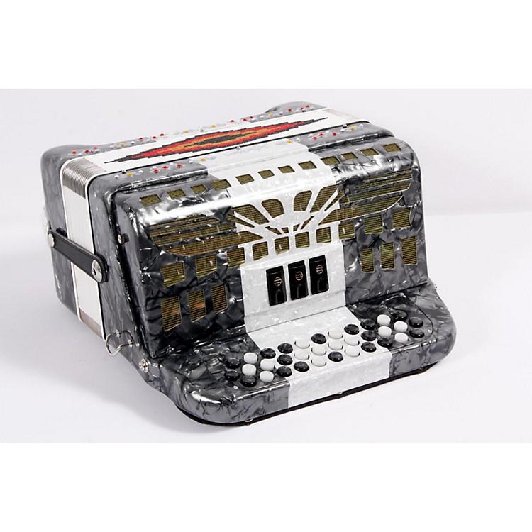 SofiaMariSM-3412 34-Button 12 Bass Accordion FBEGray/White/Gray888365701677