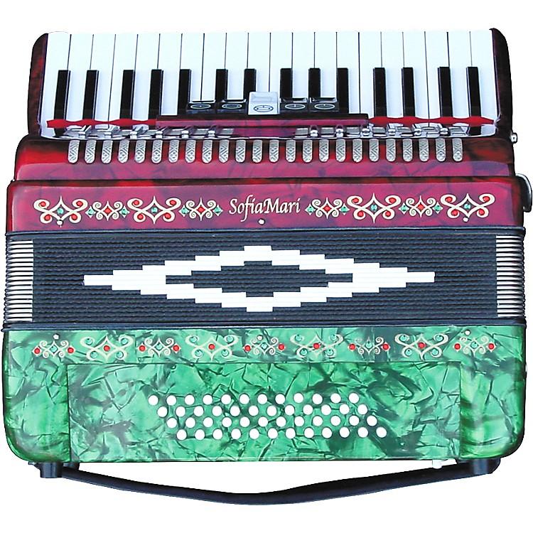 SofiaMariSM-3448 34 Piano 48-Bass Accordion
