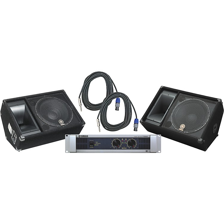 YamahaSM15V/ P5000S Speaker & Amp Package