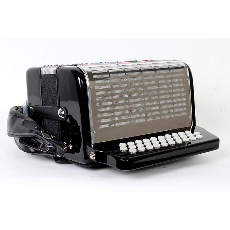 SofiaMariSM3112 Black FBE 31 Button Accordion888365805450
