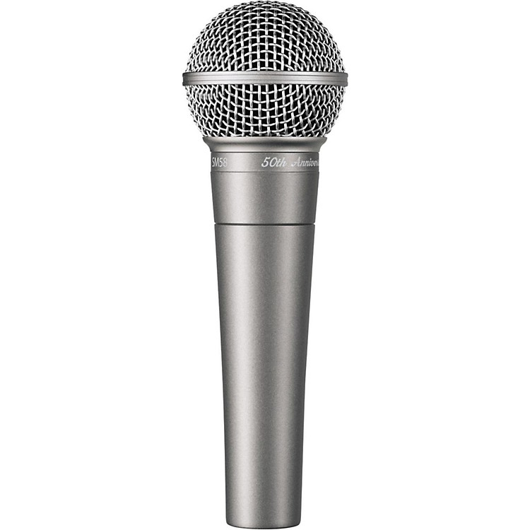 Shure SM58-50A 50th Anniversary Edition Vocal Microphone