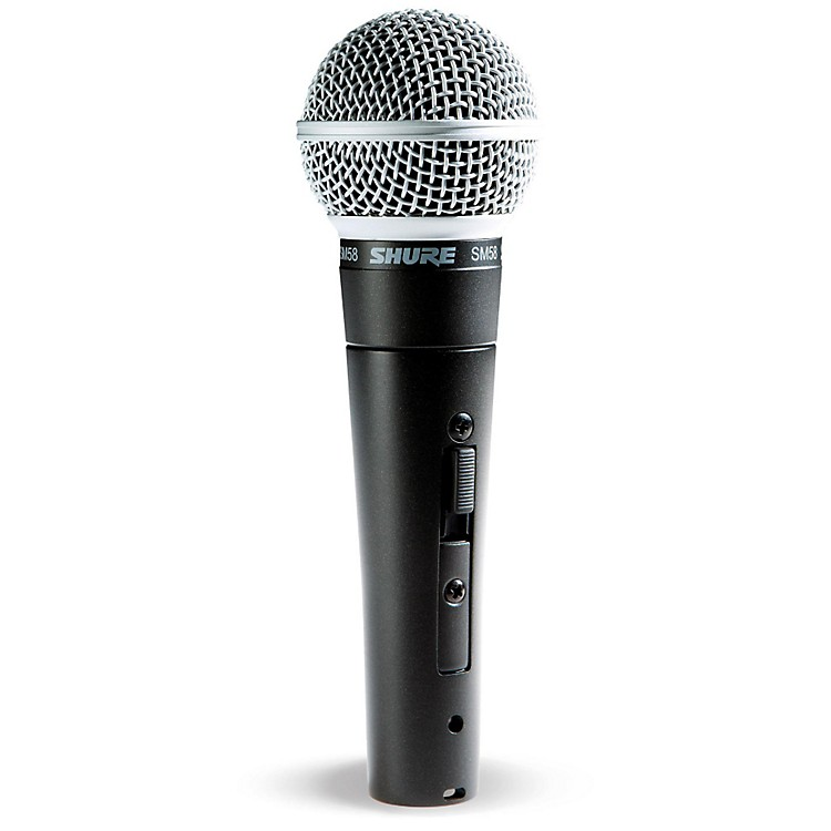 ShureSM58S Mic with Switch