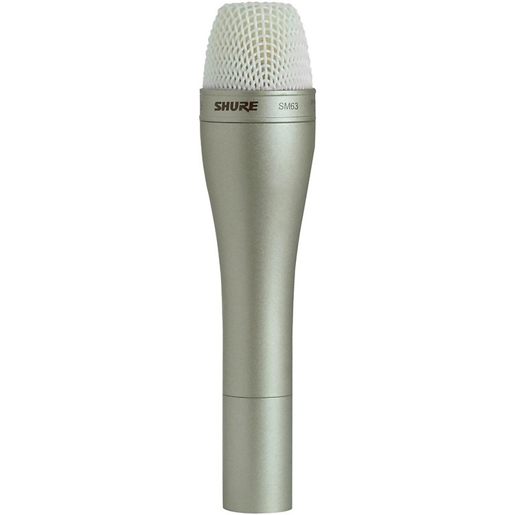 Shure SM63 Handheld Dynamic Omnidirectional Microphone