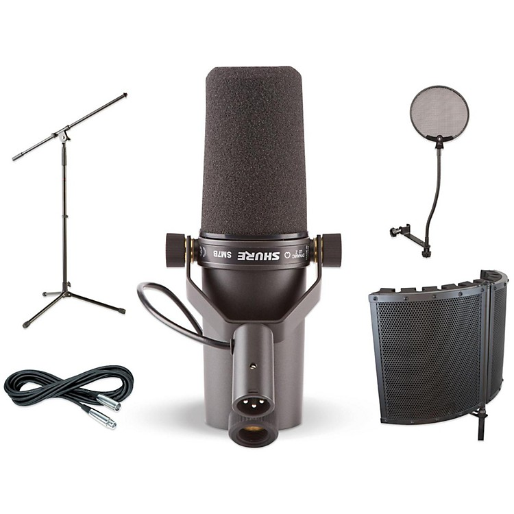 ShureSM7B VS1 Stand Pop Filter and Cable Kit