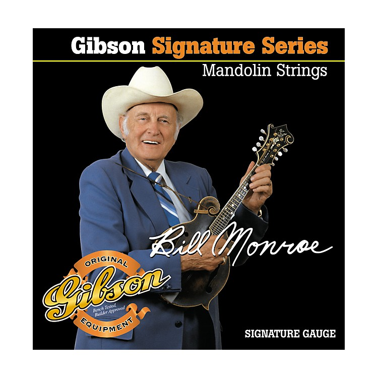 Gibson SMG-BMS Bill Monroe Mandolin Strings
