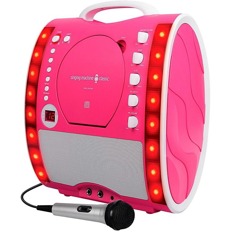 The Singing MachineSML343 Karaoke SystemPink