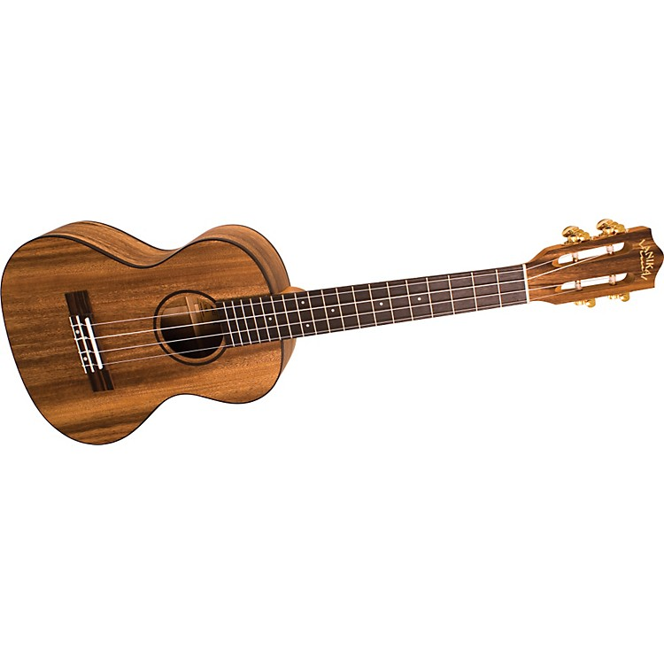 Lanikai SMP-T Solid Monkey Pod Tenor Ukulele Natural