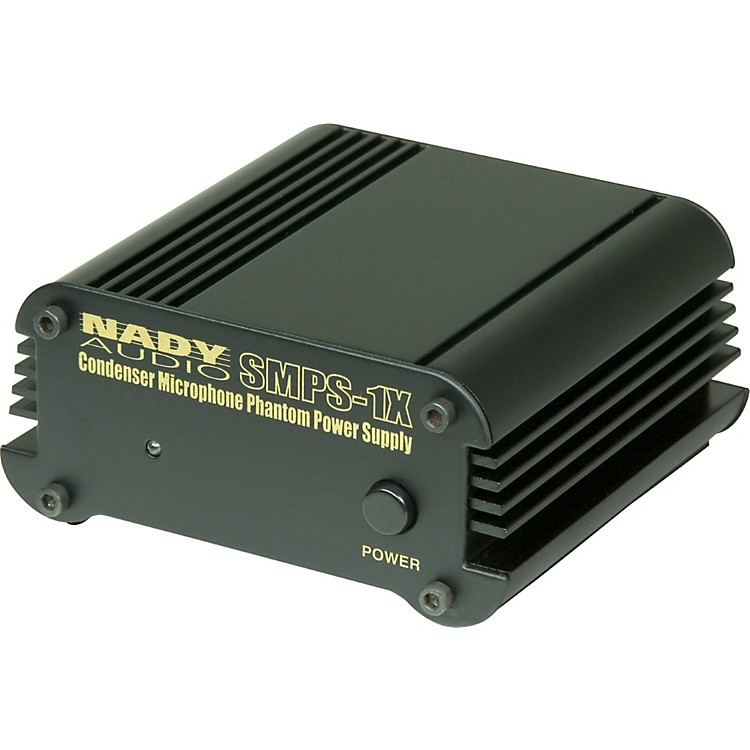 NadySMPS-1X Phantom Power SupplyBlack