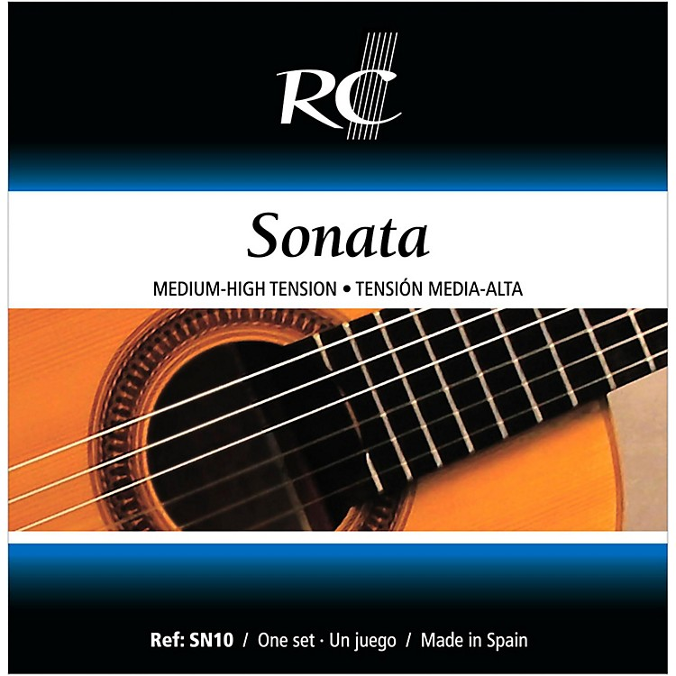 rc strings sn10 sonata medium high tension nylon guitar strings music123. Black Bedroom Furniture Sets. Home Design Ideas