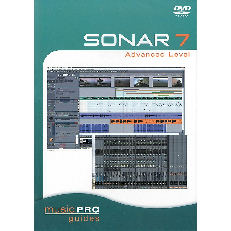 Hal Leonard SONAR 7 Advanced Level - Music Pro Series (DVD)