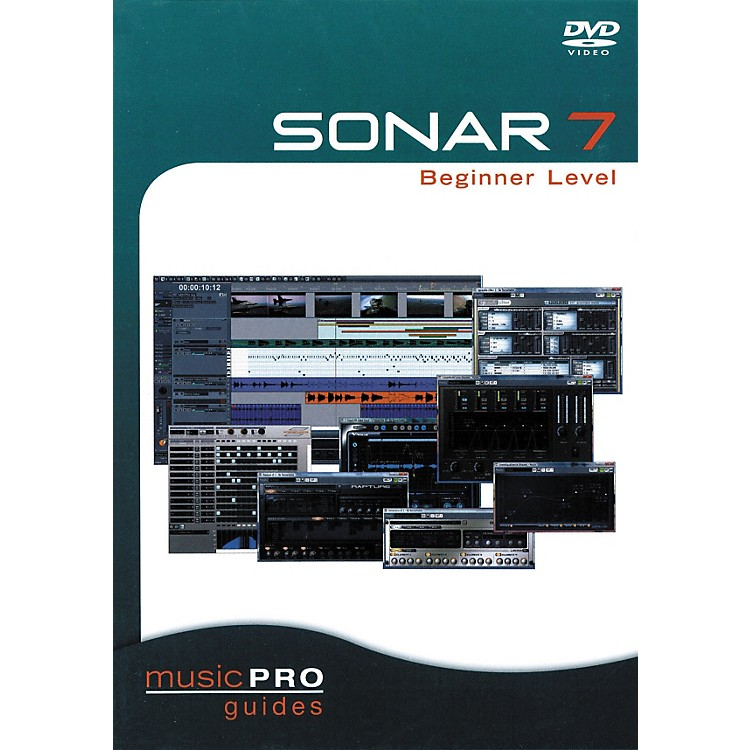 Hal Leonard SONAR 7 Beginner Level (DVD)