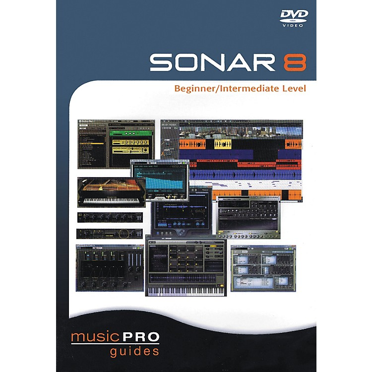 Hal Leonard SONAR 8 Beginner/Intermediate Level (DVD)