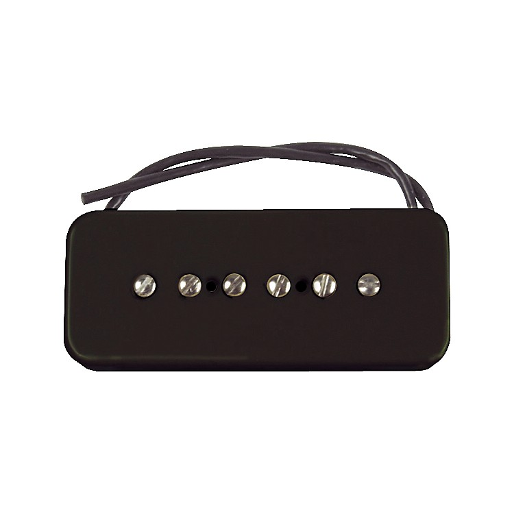 Seymour Duncan SP90-2 Hot Soapbar Pickup Black Bridge
