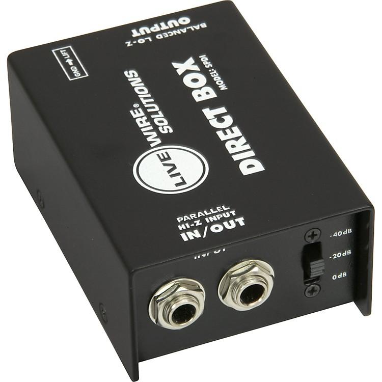 LivewireSPDI Passive Direct Box with Attenuation Pad