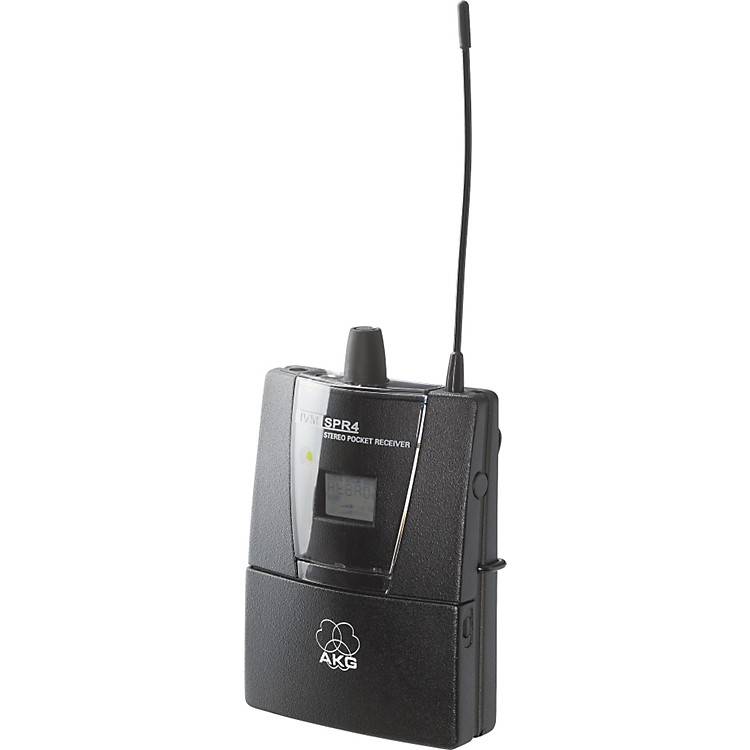 AKG SPR 4 In-Ear Monitoring Bodypack Receiver