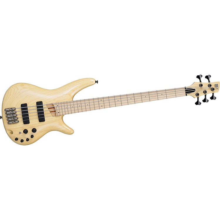 Ibanez SR4505E 5-String Electric Bass Guitar Natural