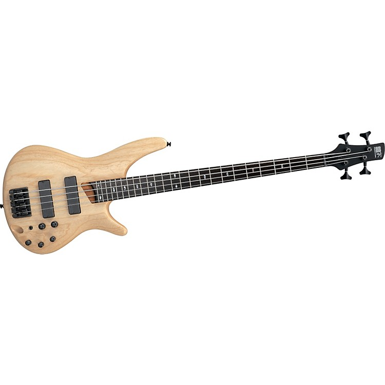 Ibanez SR600 Bass Guitar Natural Flat