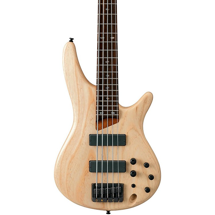Ibanez SR605 5-String Bass Guitar Natural Flat