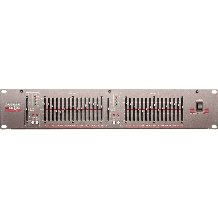 DOD SR830QXLR Dual 15-Band EQ