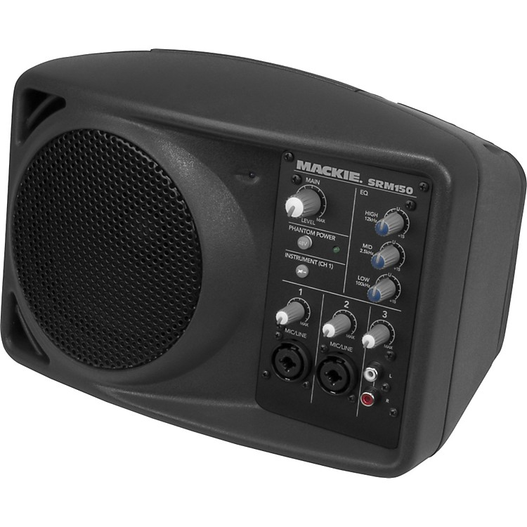 mackie srm150 compact active pa system music123. Black Bedroom Furniture Sets. Home Design Ideas