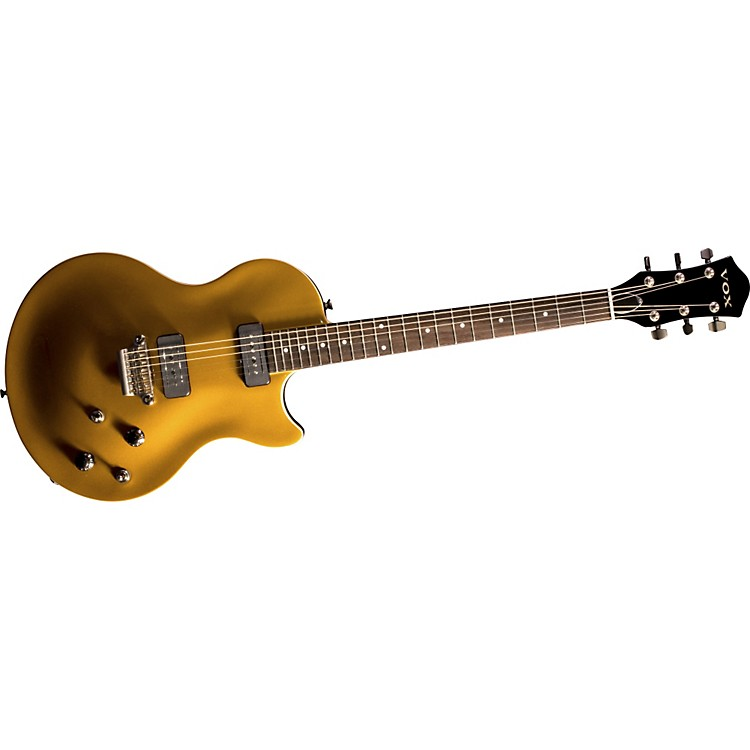 Vox SSC33 Single-Cutaway Solidbody Electric Guitar Gold