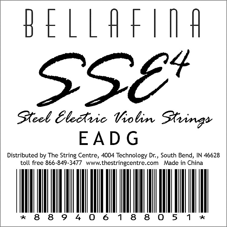 Bellafina SSE Electric Violin String Set
