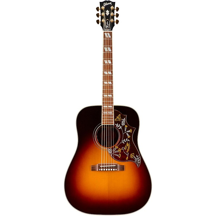 Gibson SSHBMRG17 Mystic Hummingbird Acoustic-Electric Guitar Sunset Burst