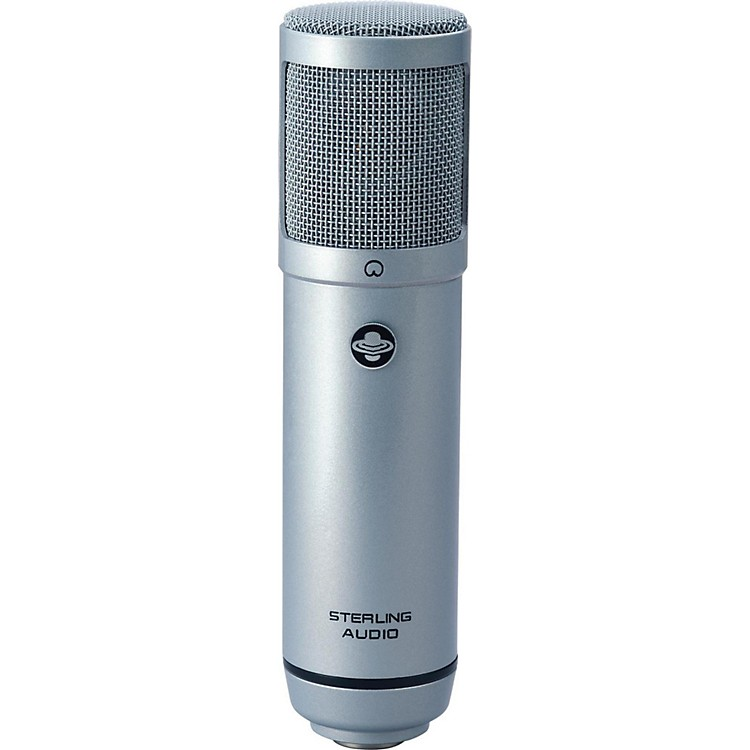 Sterling Audio ST51P Large Diaphragm Condenser Microphone Platinum