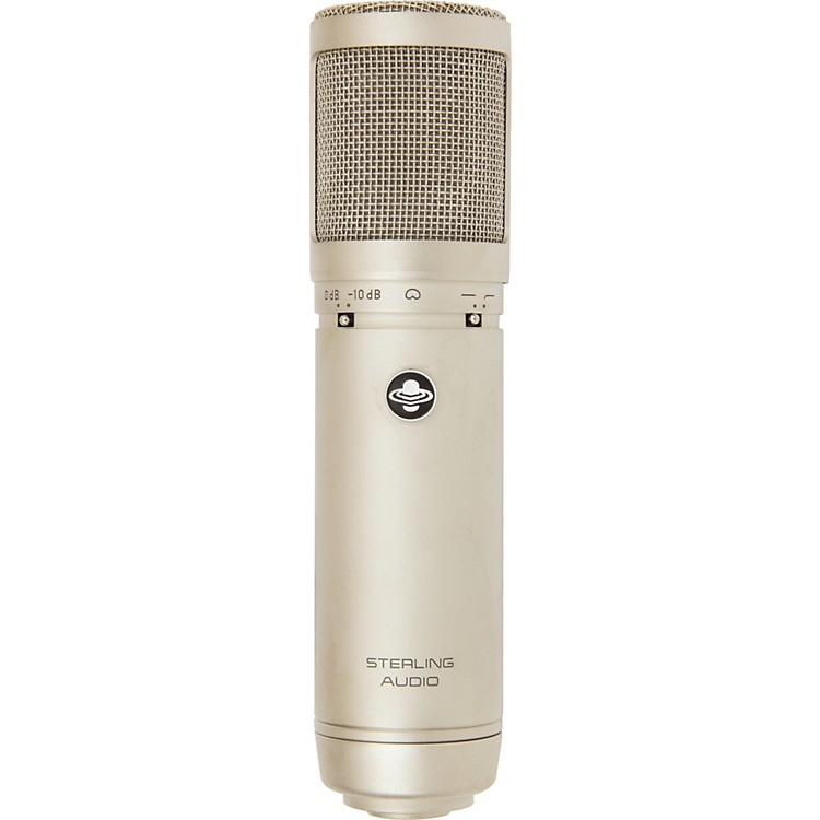 Sterling AudioST66 Large Diaphragm Tube Condenser Microphone
