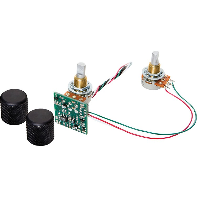 BasslinesSTC-2S-BO Blackouts 2-Band Tone Circuit with Separate Bass and Treble Potentiometers