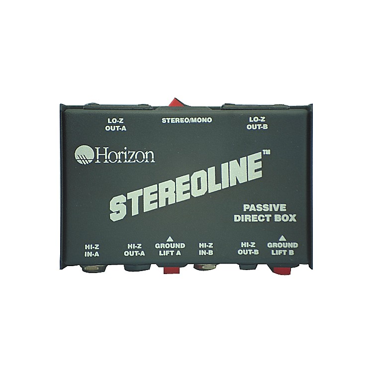 Rapco Horizon STL-1 Stereo Line Direct Box