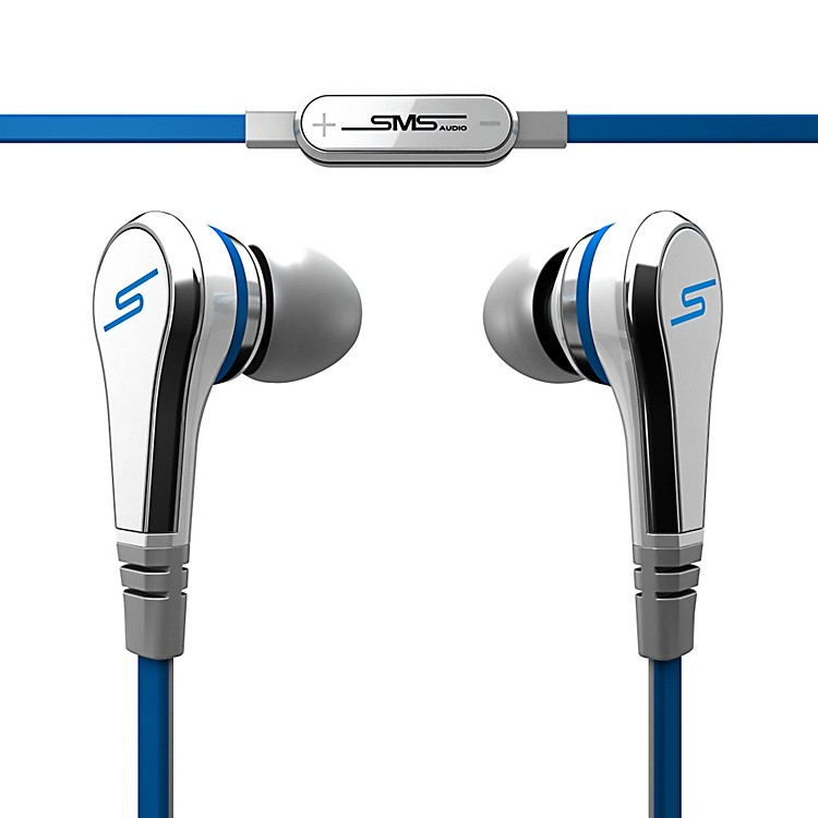 SMS Audio STREET by 50 Wired Earbuds White