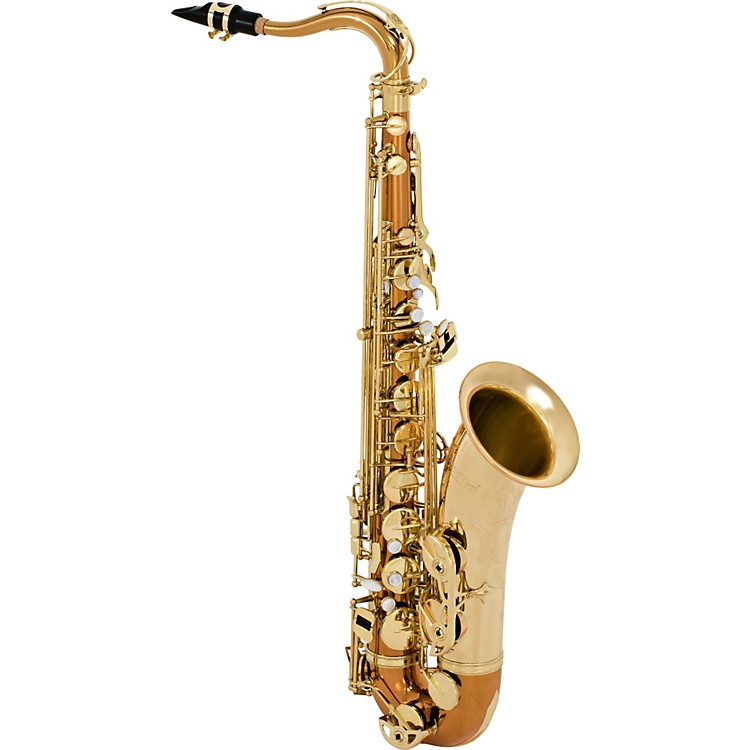 Selmer STS280 La Voix II Tenor Saxophone Outfit Copper Body with Yellow Brass Bell and Keys