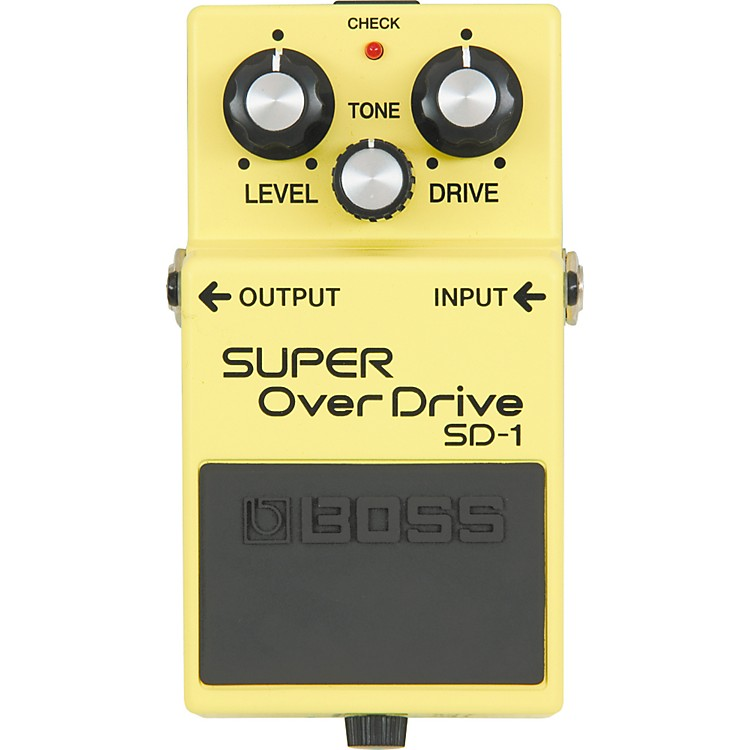 Boss SUPER OverDrive SD-1 Pedal