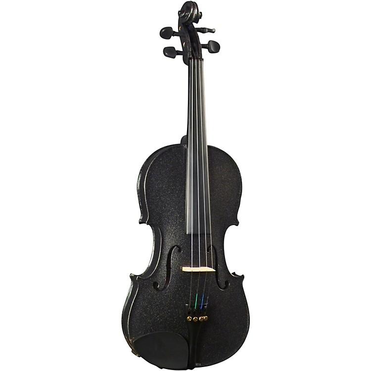 CremonaSV-130BK Series Sparkling Black Violin Outfit4/4 Size