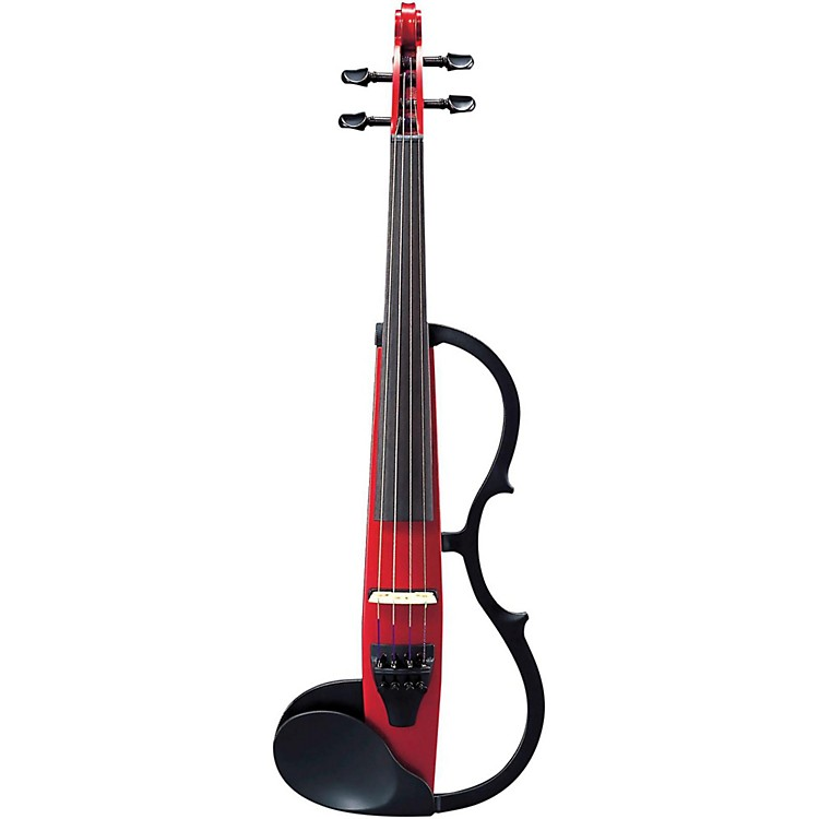 YamahaSV-130S Concert Select Silent Violin OutfitCandy Apple RedOutfit