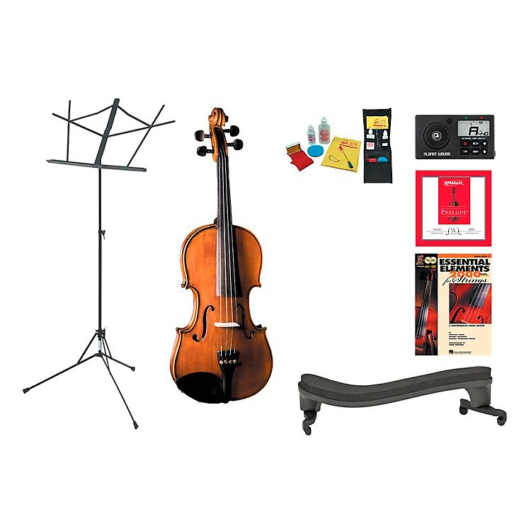 Cremona SV-175 Beginner Student 1/4 Violin Bundle