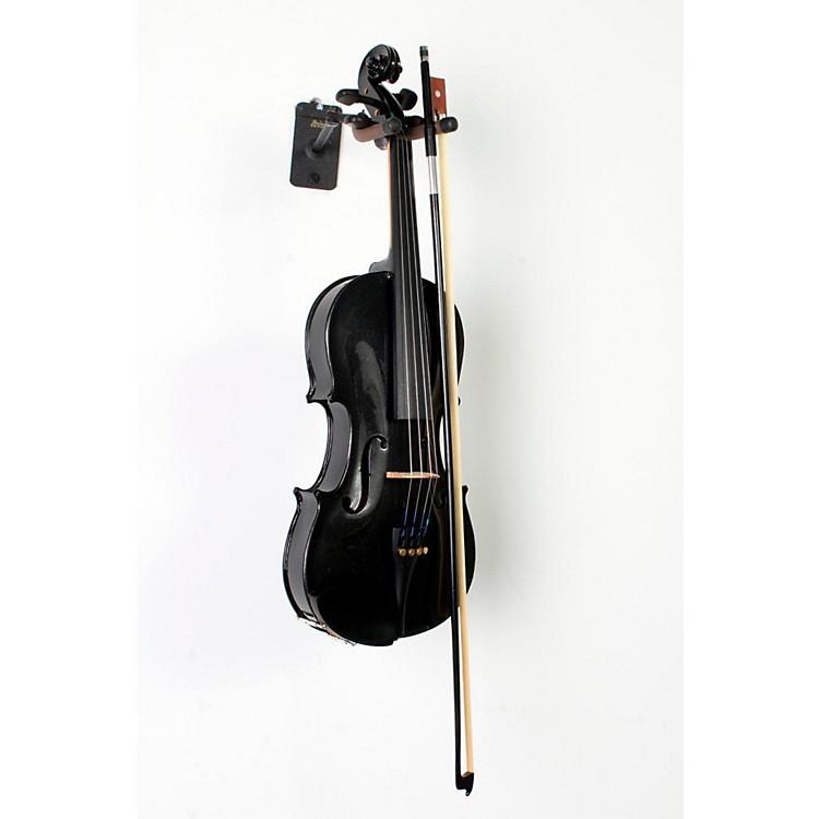 CremonaSV-75BK Premier Novice Series Sparkling Black Violin Outfit4/4 Outfit888365812311