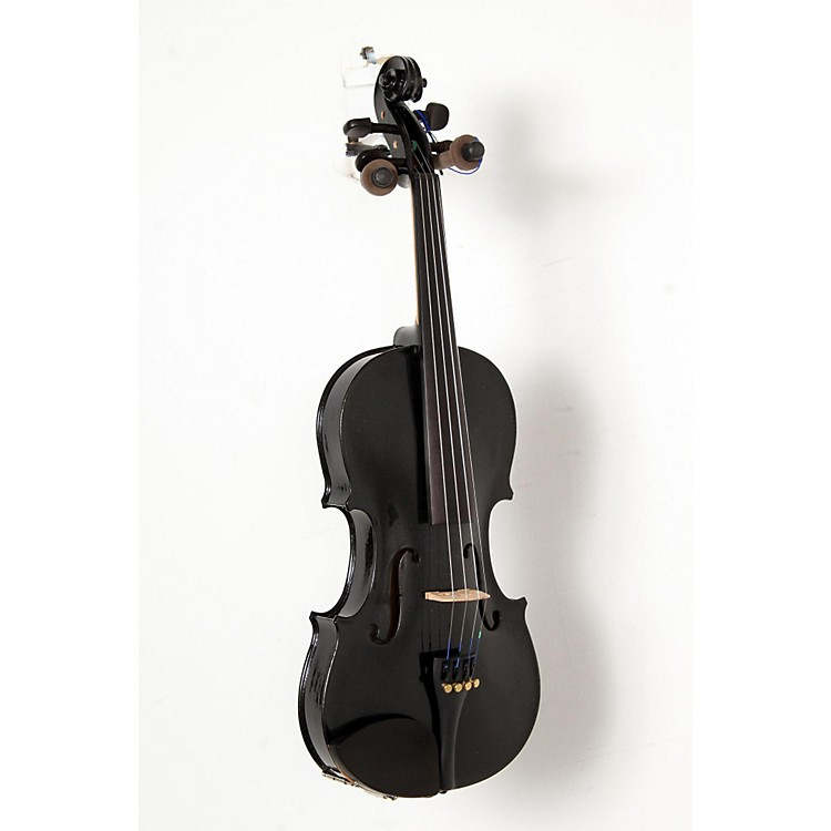 CremonaSV-75BK Premier Novice Series Sparkling Black Violin Outfit4/4 Outfit888365842189