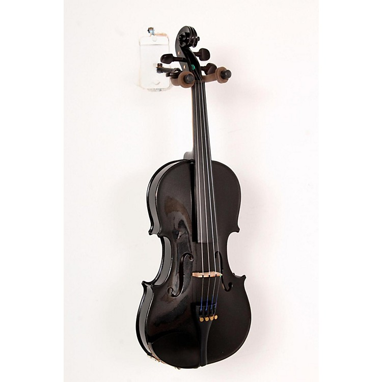 CremonaSV-75BK Premier Novice Series Sparkling Black Violin Outfit4/4 Outfit888365795478