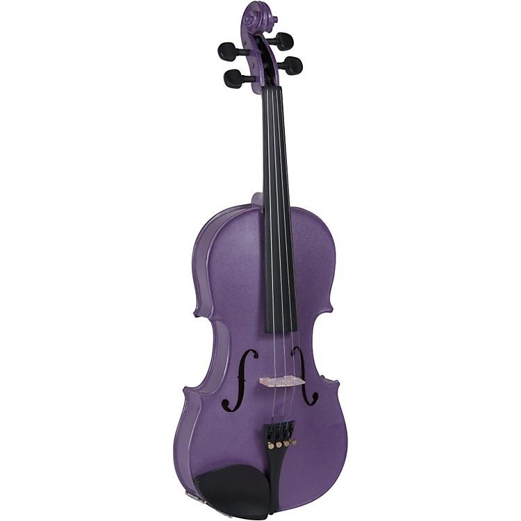 CremonaSV-75VL Premier Novice Series Sparkling Violet Violin Outfit