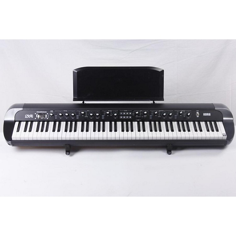 Korg SV188BK 88-key Stage Vintage Piano Black 886830638398